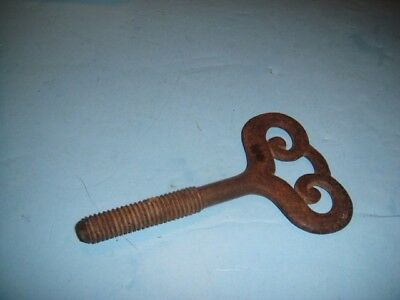 Vintage Large Door Gate Handle Pull Rustic Antique Cast Iron Drawer