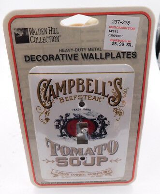 Campbell's ~ Walden Hill Collection ~ Beefsteak Tomato Soup ~ Wallplate Switch
