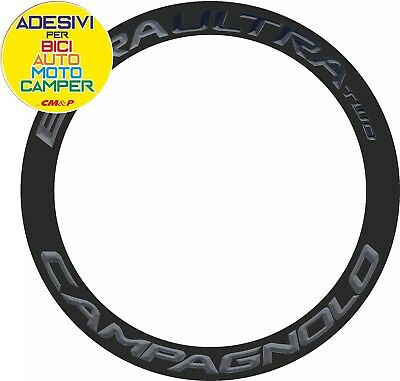 Adesivo/Stickers CAMPAGNOLO BORA ULTRA TWO dark label