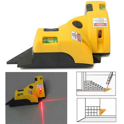Right Angle 90 Degree Vertical Horizontal Laser Line Projection Square Level New