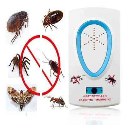 Waterproof Ultrasonic Electronic Repellent Pest Mouse Bug Mosquito Repeller