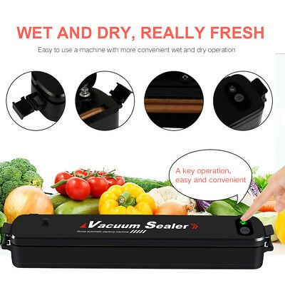 Vacuum Sealer Machine Automatic Sealing System for Dry Moist Foods Storage LP-11