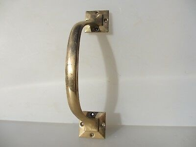 Vintage Bronze Door Handle Shop Pull Pub Architectural Old Brass   11""