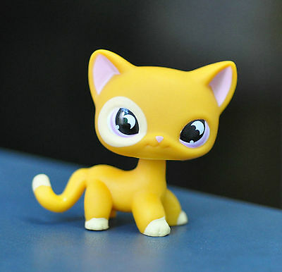 Short Hair Cat Littlest Pet Animal child girl boy figure loose cute LPS806