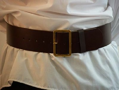 Pirates-Re-enactment/Larp/Sca CHUNKY BUCCANEER/SANTA CLAUS BELT in 2 Colours