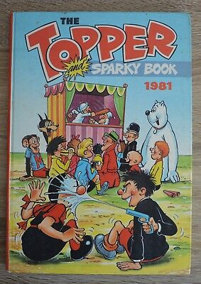 The Topper and Sparky Book 1981 Annual