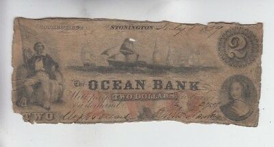Obsolete Currency Stonington Connecticut lower grade
