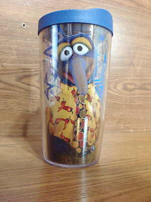 Gonzo From The Muppets 16 Oz. Tervis Brand Tumbler Cup 2011 With Blue Lid