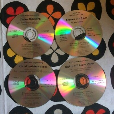 Valley of the sun self help CDs x HIGHER SELF EXPLORATION RX17 Mind Chakra etc