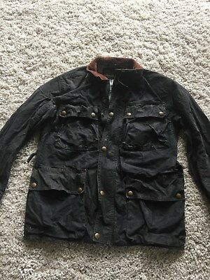 Belstaff Waxed Cotton Trialmaster Pro Jacket