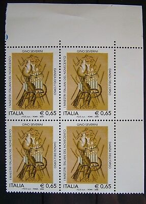 2009  Italia Quartina , Gino  Severini   MNh**