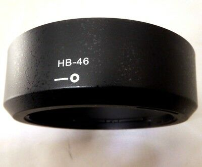 HB-46 Lens Hood Shade Replacement For Nikon AF-S 35mm f1.8 G DX Bayonet twist on