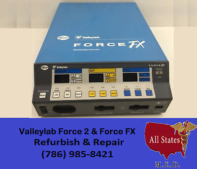 ValleyLab Force FX  Electrosurgical Unit Repair