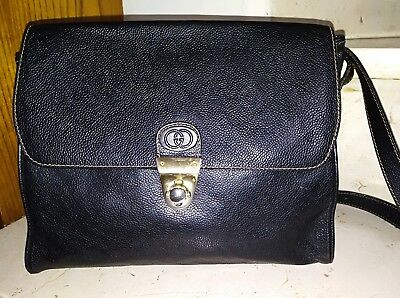 Gucci borsa - pelle - originale vintage anni '60/70- Bag genuine leather