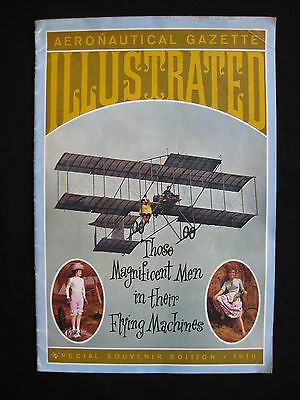 THOSE MAGNIFICENT MEN IN THEIR FLYING MACHINES 1965 Orig movie programme biplane