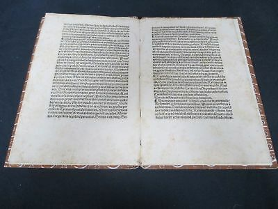 Incunable Pamphlet Published 1490 St Thomas Aquinas on Confession H138