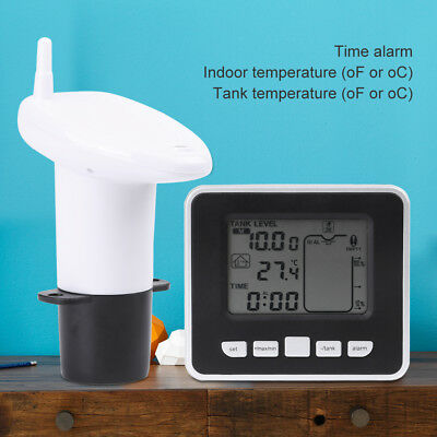 Wireless Ultrasonic Water Tank Liquid Level Meter with Temperature Sensor Hot el