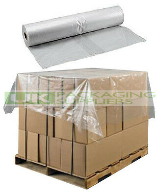 5000 PLASTIC POLYTHENE SHEETS COVERS FOR PALLET TOP BASE PROTECTION SIZE 51x59""