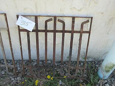 Antique Victorian Iron Gate Window Garden Fence Architectural Salvage Door #385