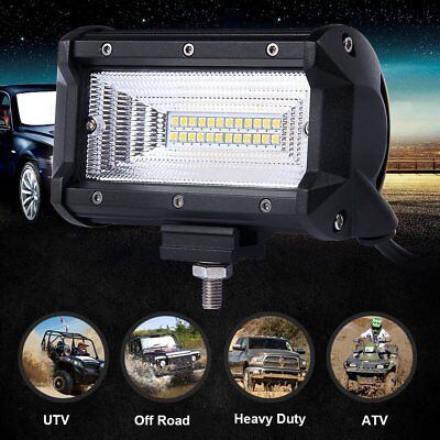 6inch 120W OSRAM Cree Combo Flood Beam OffRoad LED Work Driving Light Pod 4WD