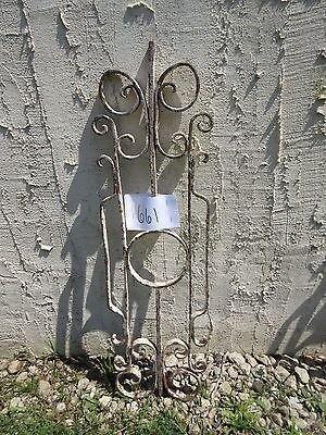 Antique Victorian Iron Gate Window Garden Fence Architectural Salvage Door #661