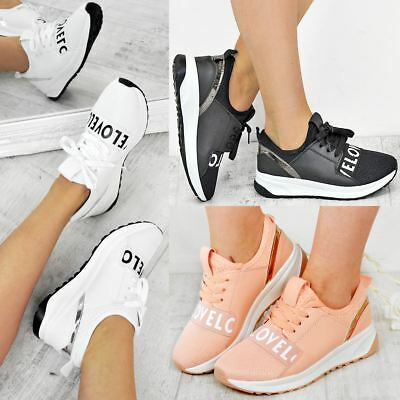 Womens Love Bali Runners Trainers Sneakers Sports Luxe Casual Shoes Size