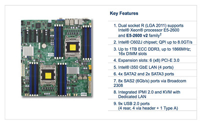 Supermicro X9DRD-7LN4F Motherboard
