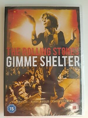 The Rolling Stones: Gimme Shelter [1970] [DVD] Brand New & Sealed