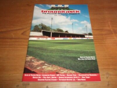 Groundtastic The Football Grounds Magazine GT65 Summer 2011 Ft Accrington Hayes