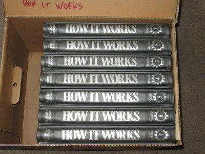 Original Vintage HOW IT WORKS Complete Collection & Binders Marshall Cavendish