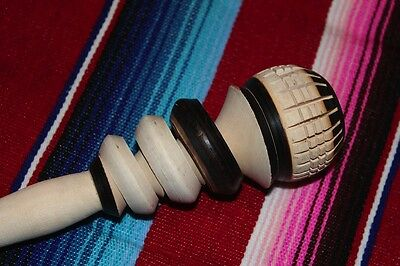 Chocolate Beater Molinillo #2 1:12 Mexican Import Kitchen Dollhouse Miniature
