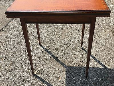 Small Antique Games Table