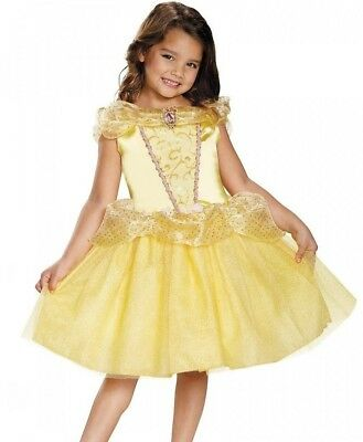 Belle Costume Deluxe Dress Ball Gown Child Disney Princess - XS 3T-4T S 4-6
