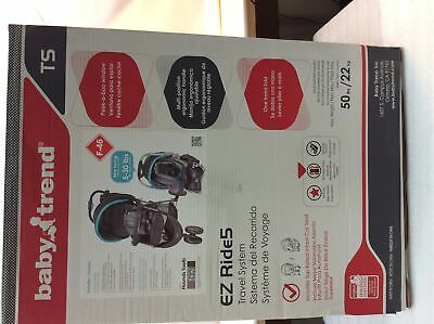 Baby Trend EZ Ride 5 Travel System, stroller, car seat, base -  Hounds Tooth