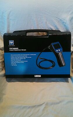 New TIF Instruments 3880 HVAC Video Inspection Camera Scope Borescope