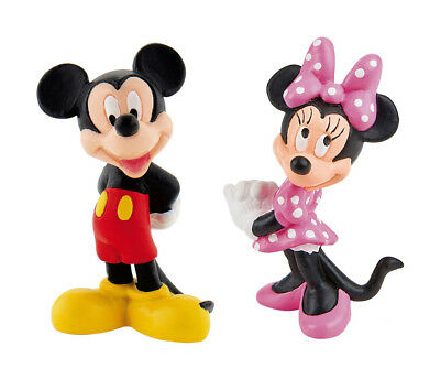 Disney Mickey & Minnie Mouse Clubhouse Figures Toy Cake Topper Bullyland