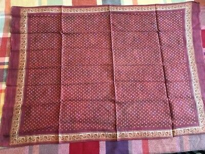 Civil War Vintage Handkerchief Reproduction - Sgt. Ira Lindsey, 25th MA Inf
