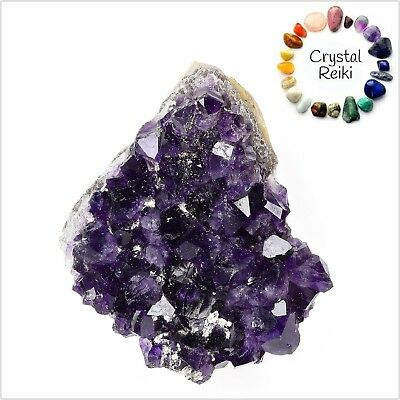 Natural AMETHYST Cluster Healing Crystals Rock Gem Stone Energy Chakra Reiki