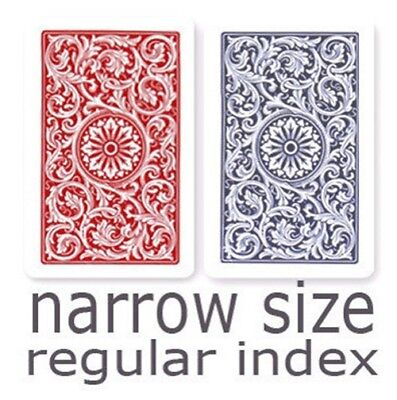 Copag 1546 Red & Blue Narrow - Regular Index Playing Cards