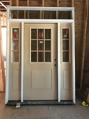 New Front Entry Door System