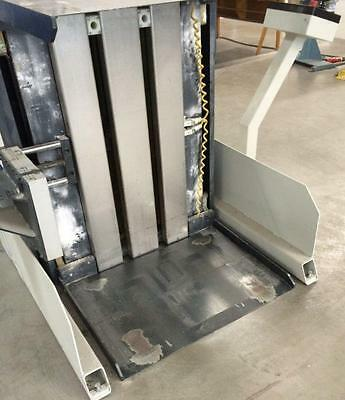 Busch Stapelwender SWH 90 LA   --  Pileturner with airblowers