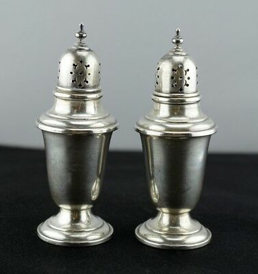 Old French by Gorham Sterling Silver Salt and Pepper Shakers 758 No Mono