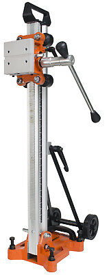 "Cayken Aluminum Diamond Core Drill Rig Stand, 4.5"" Wheels for Easy Portability"
