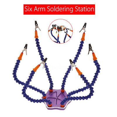 6 Arm Helping Hands Soldering Welding Tool Electronics Kit for RC Racing Drone