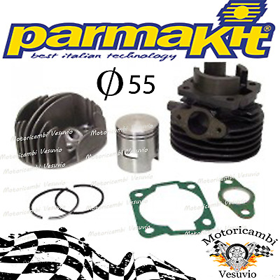 Kit gruppo termico cilindro D 55 102 cc parmakit Vespa 50 special