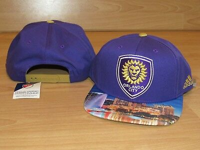 best loved d4610 27e2d ... hot orlando city sc lions skyline mls soccer futbol snapback hat cap  mens 52fe6 b5e45