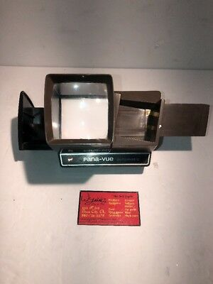 Vintage Gaf Pana-Vue Automatic Slide Viewer Works