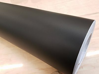 """Matte Black Cutting Sign Lettering Craft Vinyl 12"""" Adhesive Backed Decal Roll"""