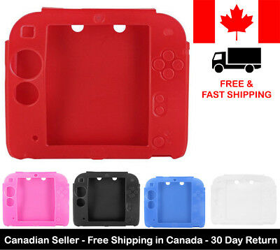 New Protective Silicone Rubber Gel Skin Case Cover For Nintendo 2DS Console