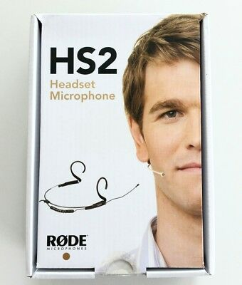 Rode HS2BL Headset microphone in Black